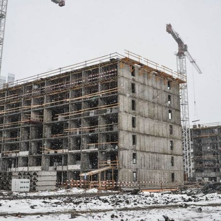 ЖК Светлый мир Жизнь, ход строительства, стройка декабрь 2017